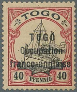 Stamps issued or overprinted by occupation authorities